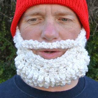 086621980f2 Ravelry  Beard Hat Santa Beanie pattern by Celina Lane