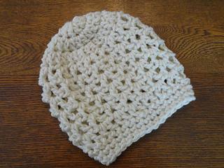 Ravelry  Chunky V Stitch Slouchy Beanie Hat pattern by Kathy Olivarez 16c335537e1