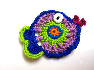 Ravelry Crochet Fish Applique Pattern By Heidi Perry