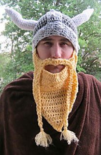f35ffa63f Volga Viking Hat and Beard pattern by Breanna Krueger