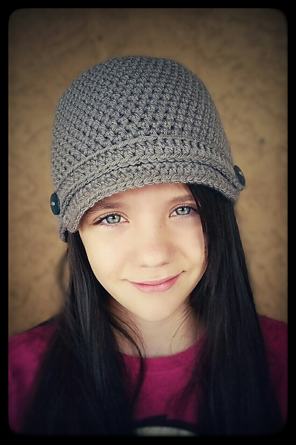 Ravelry Basic Newsboy Hat Pattern By Ana Benson