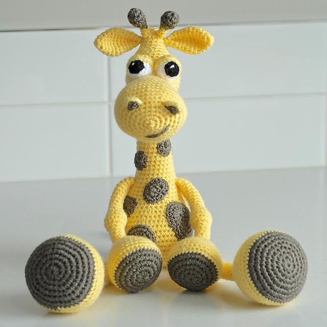 Ravelry Giraffe Gerry Pattern By Sandra Hawlik X