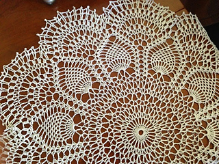 Ravelry Pink Pineapple Doily Pattern By American Thread Company