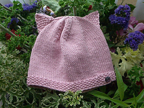 Ravelry Cat Eared Baby Hat Pattern By Sophy Ting
