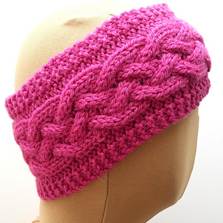 Ravelry Cabled Ear Warmer Headband Pattern By Sophie Le