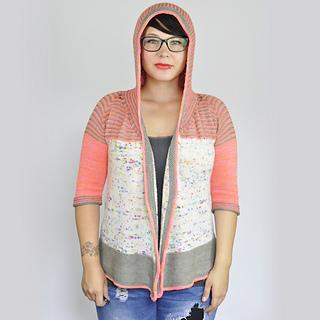 Ravelry: Hoodie Shawl Cardigan pattern by Susanne Sommer