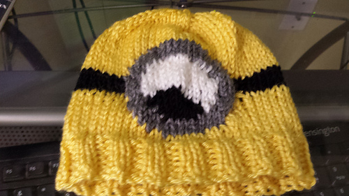 Ravelry Despicable Me Minion Hat Pattern By The Knit Guru