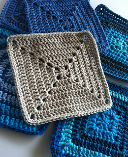 Ravelry Solid Granny Square For Beginners Pattern By