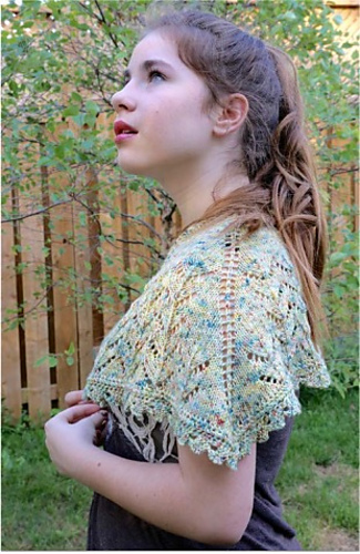 213db86259a Ravelry  Firefly Shawl pattern by Danielle Comeau