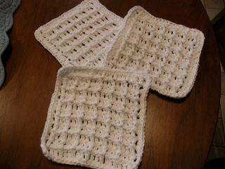 Ravelry waffle crochet dishcloth pattern by chip flory ssanchirico dt1010fo