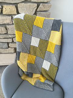 Ravelry Mitered Squares Baby Afghan Or Lap Robe Pattern