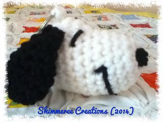 Snoopy Easy Amigurumi Pattern : Ravelry: amigurumi snoopy keychain pattern by jenn mulherin