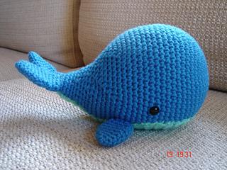 Free Crochet Amigurumi Whale Patterns : Ravelry whale amigurumi pattern by mariska vos bolman