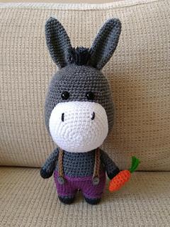 Ravelry  Bernard the Donkey pattern by Mariska Vos-Bolman b007094e1
