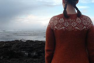 Ryðrauð pattern by Steinunn Birna Gudjonsdottir