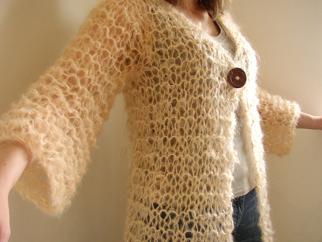Knitting Jumper Pattern : Ravelry long mohair cardigan pattern by siobhan brown