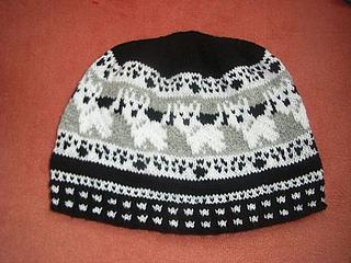 Knitting Pattern For Westie Dog : Ravelry: Westie beanie pattern by Sandra Jager