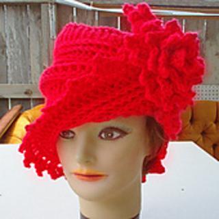 Ravelry lauren crochet cloche hat pattern with flower pattern by ravelry lauren crochet cloche hat pattern with flower pattern by strawberrycouture dt1010fo