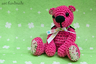 Amigurumi Teddy Bear Free Patterns : Ravelry: mini crocheted teddy bear pattern by sonea delvon