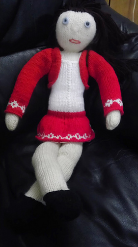 Ravelry Ethne Rose A Knitted Doll Pattern By Jane Wileman