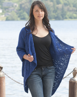 Ravelry: Summer Lace Wrap Cardigan pattern by Vera Sanon