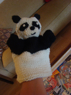 Ravelry Panda And Zebra Hand Puppets Pattern By Susan B Anderson