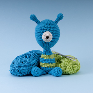 Ravelry Cedric The Cyclops Crochet Toy Pattern By Susan Yeates
