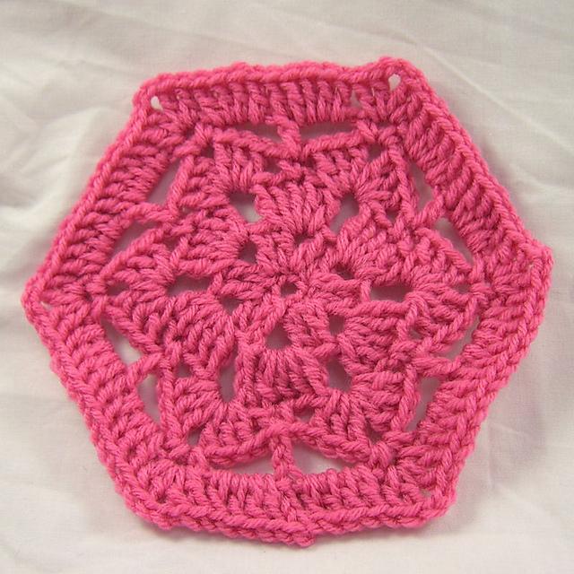 Ravelry Scrap Savers Hexagon Motif Pattern By Julie A Bolduc
