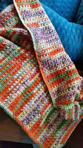 2f4f137e2 Ravelry  One Skein Baby Blanket pattern by Marilyn Losee