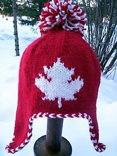 Ravelry Maple Leaf Earflap Hat Pattern By Michele C Meadows