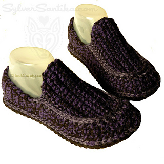 Ravelry Loafer Slippers Men And Women Pattern By Sylver Santika