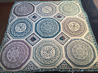Ravelry Taemombo S Labyrinth Celtic Blanket