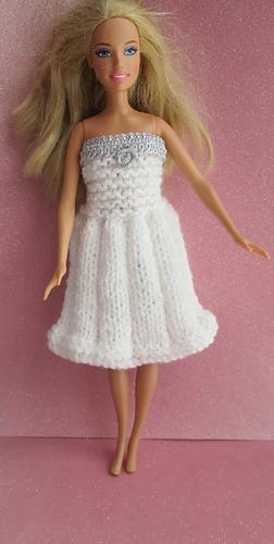 Ravelry Stylish Dress For Barbie Pattern By Taffylass Knits