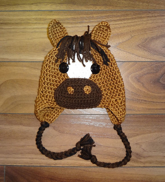 patterns   Sheri Wentzell s Ravelry Store and 1 more...   Horse Hat Crochet  Pattern 0a80bb01d63