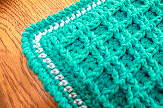 Ravelry Waffle Stitch Placemat Pattern By Taralee Duffin