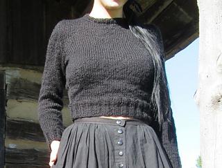 2289fc85b Ravelry  Lumberjackie Cropped Sweater pattern by Vegan Metal Vamp
