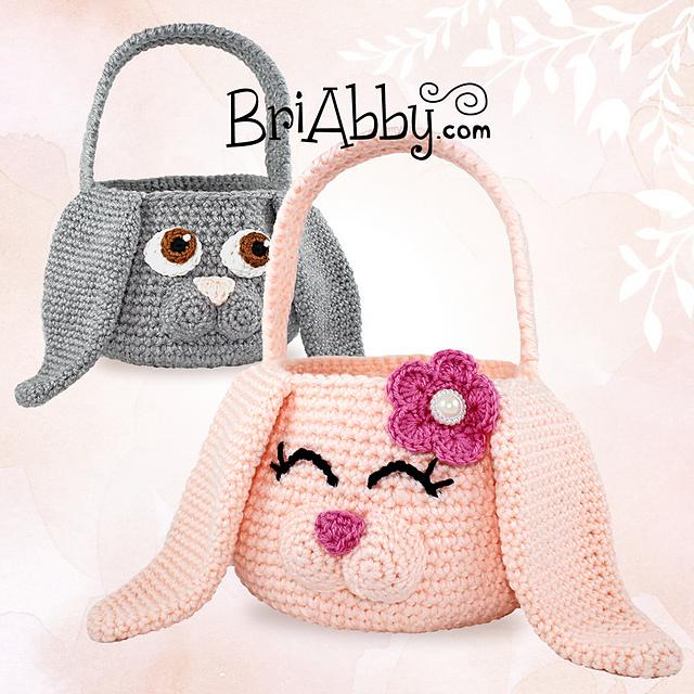 Ravelry: Easter Bunny Baskets pattern by Joni Memmott / BriAbby