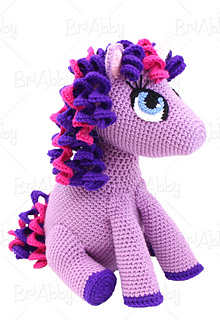 Ravelry: Stuffed Amigurumi Unicorn / Pony Toy pattern by ...