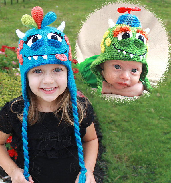 Ravelry Googley Monster Hat Pattern By Joni Memmott Briabby