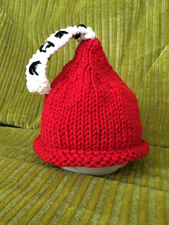 Free #knitting pattern \\ Kissie Candy Hat \\ http://ow.ly/Y0jJS #valentinesday