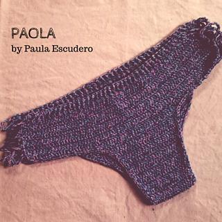 8f84489e70262b Ravelry  Paola bikini bottom pattern by Paula Escudero