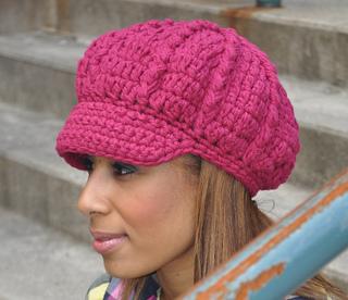 Ravelry  Crochet Newsboy Hat pattern by Eileen Tepper 589b481ed84