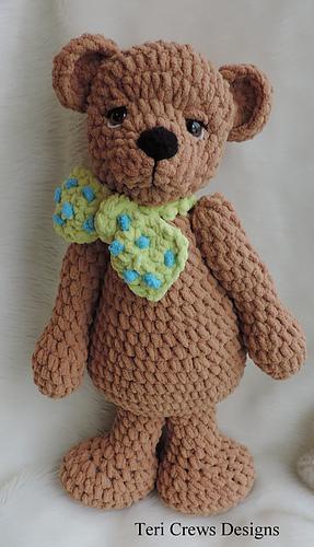 Ravelry Cute Old Bear Pattern By Teri Crews