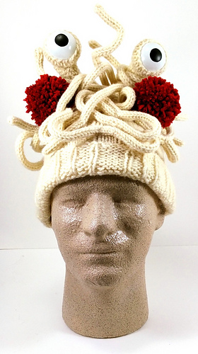 Ravelry Pastafarian Flying Spaghetti Monster Hat Pattern By Tess Mattos