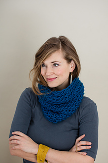 36cbcd07b55 Ravelry  Back Loop Beginner Cowl pattern by The Firefly Hook