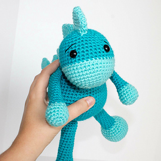 Ravelry The Friendly Dino Pattern By Kali Dahle