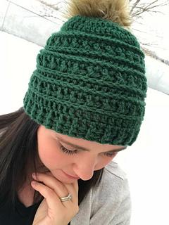 Ravelry  Mountain Ridges Hat pattern by Kali Dahle bff40953774