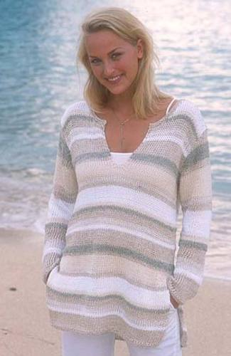 Ravelry 78 7 Pullover Pattern By Drops Design