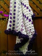 Baby_granny_square_blanket_crochet_pattern_on_thepurpleponcho