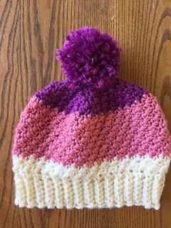 e5f3155d6 Ravelry: Greene Pom-Pom Hat pattern by Jessica Dayon